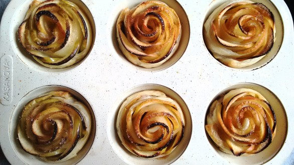 apple roses 3 ingredients
