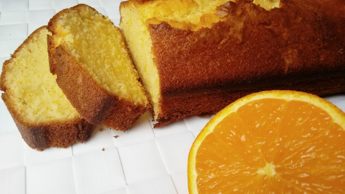 extra fluffy orange cake