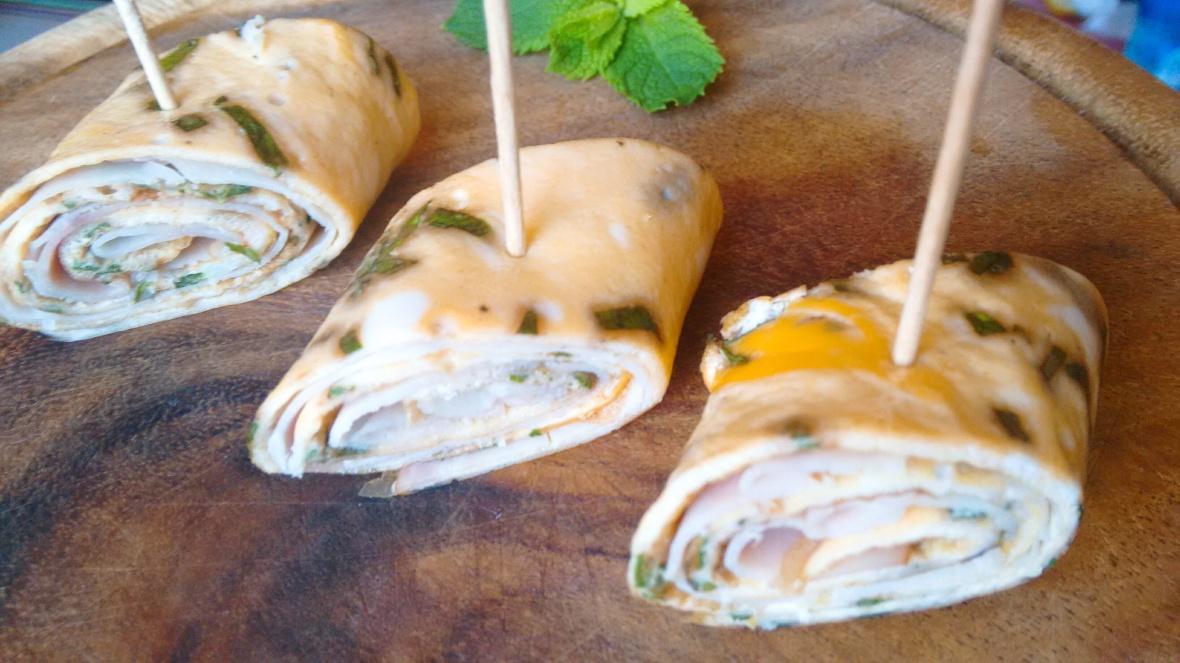 omelet roll recipe