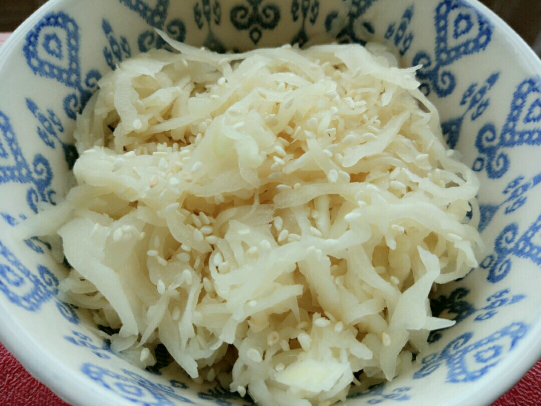 white cabbage salad recipe
