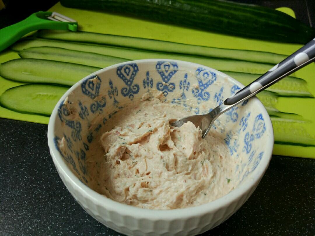 tuna and cucumber rolls recipe