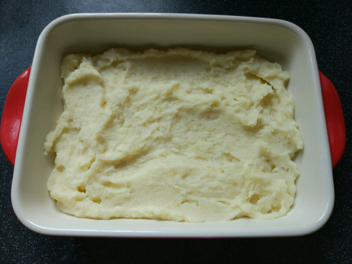 baked mash potato